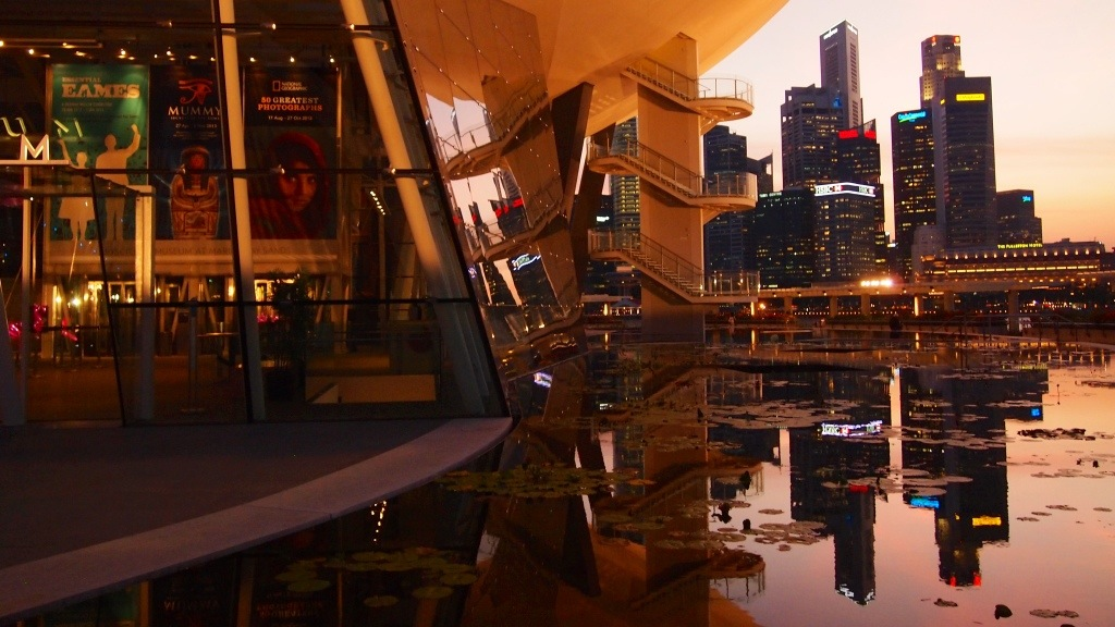Singapore Sunset (2013)