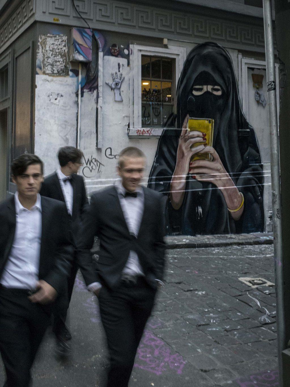 The Lurker in the Burqa