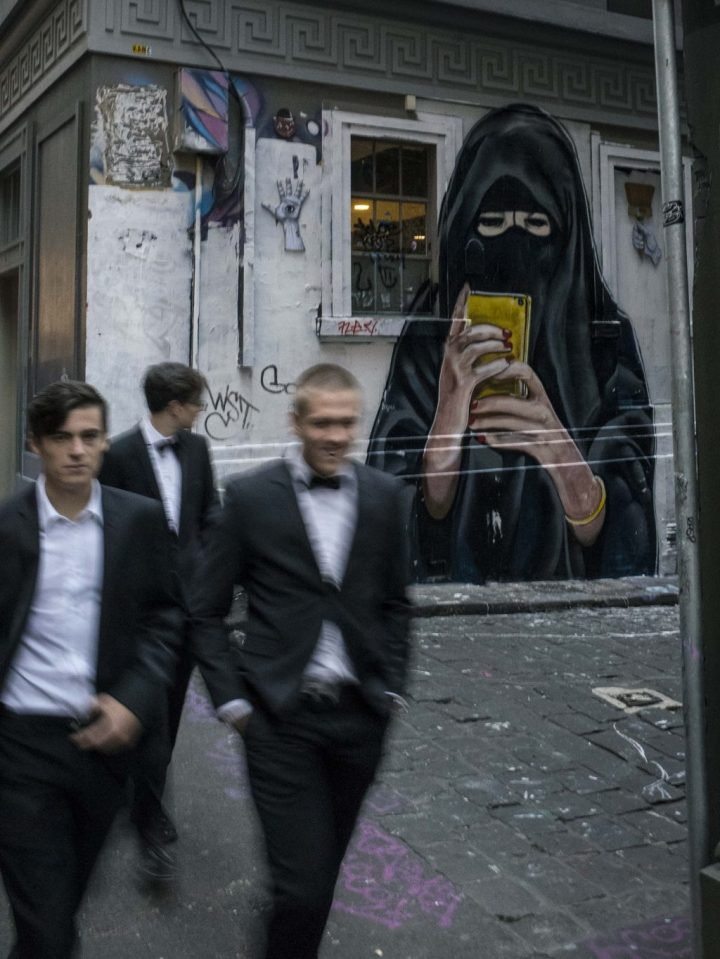 The Lurker in the Burqa